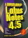 Complete Guide to Lotus Notes 4.5