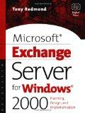 Microsoft Exchange Server for Windows 2000: Planning, Design and Implementation (HP Technolo...