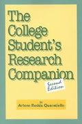 College Student's Research Companion