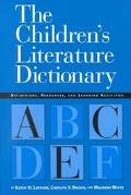 Children's Literature Dictionary Definitions, Resources, and Learning Activities