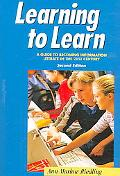 Learning to Learn A Guide to Becoming Information Literate in the 21st Century