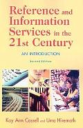 Reference and Infor. Service in 21st Cent.