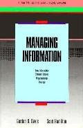Managing Information: How Information Systems Impact Organizational Strategy