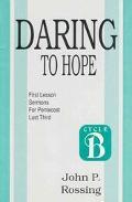 Daring to Hope Sermons for Pentecost