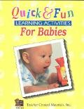 Quick and Fun Learning Activities for Babies