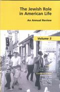 Jewish Role in American Life An Annual Review