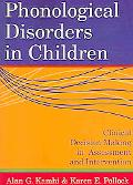 Phonological Disorders In