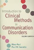 Introduction to Clinical Methods in Communication Disorders