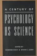 Century of Psychology As Science