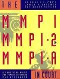 Mmpi,mmpi-2,+mmpi-a in Court