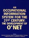 Occupational Information System for the 21st Century The Development of O Net