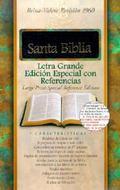 Santa Biblia Reina-Valera Revision 1960, Letra Grande Edicion Especial Con Referencias, Con ...