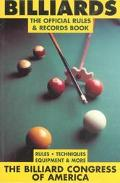Billiards The Official Rules & Records Book