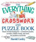 Everything Crossword and Puzzle Book Hours of Brain-Teasing Fun-Crossword Puzzles, Acrostics...