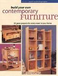 Build Your Own Contemporary Furniture