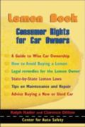 Lemon Book Consumer Rights for Car Owner's