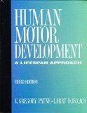 Human Motor Development: A Lifespan Approach