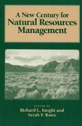 New Century for Natural Resources Management