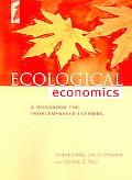 Ecoligcal Economics A Workbook For Problem-Based Learning