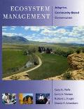 Ecosystems Management Adaptive, Community-Based Conse