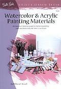 Watercolor & Acrylic Painting Materials