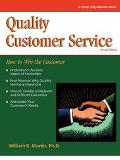 Quality Customer Service How to Win With the Customer