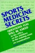 Sports Medicine Secrets (Mosby Secrets Series)