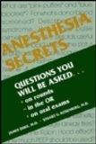 Anesthesia Secrets (The Secrets Series)