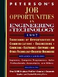 Job Opportunities in Engineering and Technology, 1997