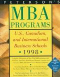 Peterson's Guide to MBA Programs, 1998