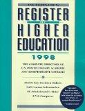 Register of Higher Education 1998 (11th ed)