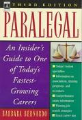 Paralegal:insider's Guide...