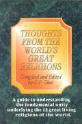 Thoughts from the World's Great Religions