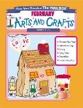 February Monthly Arts & Crafts