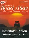 AAA North American Road Atlas Interstate United States, Canada, Mexico