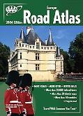 AAA Europe Road Atlas 2004