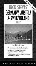 Rick Steves' Germany, Austria and Switzerland, 1997 - Rick Steves - Paperback