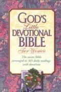 God's Little Devotional Bible for Women: New King James Version (NKJV) - Honor Books - Hardc...