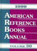 American Reference Books Annual 1999