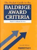 Pocket Guide to the Baldrige Award Criteria