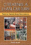 Creating A Lean Culture Tools To Sustain Lean Conversions
