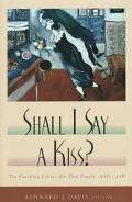 Shall I Say a Kiss? The Courtship Letters of a Deaf Couple, 1936-1938