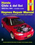 Honda Civic & del Sol: 1992 thru 1995 All SOHC models Haynes Repair Manual