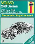 Volvo 240 Series Repair Manual, 1976-93