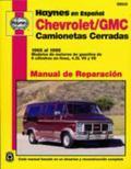 Chevrolet/gmc Camionetas Cerradas, 1968-1995