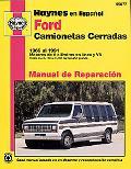 Ford Camionetas Cerradas, 1969 Al 1991