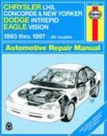 Chrysler Lhs, Concorde & New Yorker Dodge Intrepid Eagle Vision 1993 Thru 1997 All Models