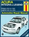 Acura Integra & Legend Automotive Repair Manual Acura Integra Models 90-93, Acura Legend Mod...
