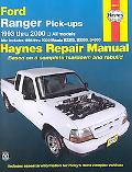 Ford Ranger & Mazda Pick-Ups Automotive Repair Manual B-Series  All Ford Ranger Models-1993 ...
