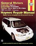 Chevrolet Venture Oldsmobile Silhouette Pontiac Trans Sport and Montana Automotive Repair Ma...